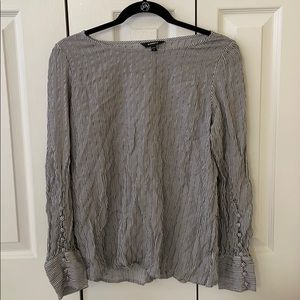 Express Scoop Neck Blouse (worn only once!)